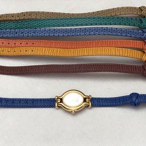 90's Vintage Fendi Interchange watch